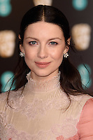 Caitriona Balfe at the 2017 EE British Academy Film Awards (BAFTA) held at The Royal Albert Hall, London, UK. <br /> 12 February  2017<br /> Picture: Steve Vas/Featureflash/SilverHub 0208 004 5359 sales@silverhubmedia.com