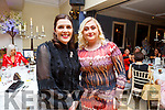 Theresa Tagney and Christina Cronin O'Connor of Tagney Opticians Tralee attending the Daily Diva and Stuart's Select Style Autumn/Winter Fashion Fix  show in aid of Recovery Haven Kerry in the Ballygarry House Hotel on Saturday night.