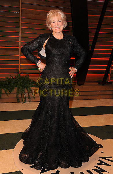 WEST HOLLYWOOD, CA - MARCH 2: Glenn Close arrives at the 2014 Vanity Fair Oscar Party in West Hollywood, California on March 2, 2014.  <br /> CAP/MPI/MPI213<br /> &copy;MPI213/MediaPunch/Capital Pictures