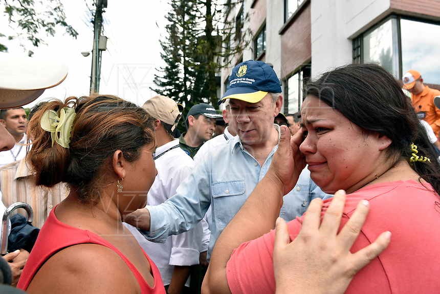 MOCOA - COLOMBIA, 01-04-2017 Aspecto de la tragediá ocurrida ayer, 31 marzo de 2017, en la ciudad de Mocoa al sur de Colombia. El desbordamiento de tres ríos y una avalancha de lodo y piedra que se presentaron en la noche de este viernes, han dejado 176 personas fallecidas y más de 200 heridos. / Aspect of the tragedy happened yesterday, 31 of March 2017, in the city of Mocoa in southern Colombia. The flood of three rivers and an avalanche of mud and stone that appeared on the night of this Friday, have left 176 people dead and more than 200 injured. Photo: VizzorImage /  César Carrión - SIG / HANDOUT PICTURE; MANDATORY EDITORIAL USE ONLY/ NO MARKETING, NO SALES
