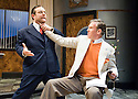 Moonlight and Magnolias by Ron Hutchinson ,directed by Sean Holmes. With Andy Nyman as David O'Selznick, Steven Pacey as Victor Flemming, .Opens at The Tricycle Theatre  on 10/7/08. CREDIT Geraint Lewis