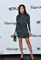 """LOS ANGELES, USA. November 06, 2019: Blanca Blanco at the premiere for """"Marriage Story"""" at the DGA Theatre.<br /> Picture: Paul Smith/Featureflash"""