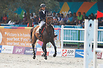Rena Shimazu (JPN), <br /> AUGUST 31, 2018 - Modern Pentathlon : <br /> Women's Individual Riding <br /> at APM Equestrian Center <br /> during the 2018 Jakarta Palembang Asian Games <br /> in Banten, Indonesia. <br /> (Photo by Naoki Morita/AFLO SPORT)