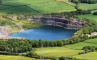 Pictured: A reservoir, west Wales. Monday 06 June 2011.<br /> Re: The four people killed in the explosion and fire at the Chevron oil refinery in Pembrokeshire have been named.<br /> They were Julie Jones, 54, a fire guard from Pembroke, and three men from Milford Haven: Dennis Riley, 52, Robert Broome, 48, and Andrew Jenkins, 33.<br /> Ms Jones was a mother of one and grandmother, Mr Riley a father of two and grandfather, Mr Broome a father of seven and Mr Jenkins had young twins.<br /> A fifth person is critical but stable after Thursday's blast at Pembroke.<br /> Churches are opening their doors to allow people to say prayers for the victims, with books of condolence available and priests offering support.<br /> <br />  <br /> It could be some time before the cause of the explosion is known Dyfed-Powys Police said the bodies were removed from the scene on Friday night.