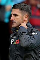 Bury Caretaker Manager, Ryan Lowe during Gillingham vs Bury, Sky Bet EFL League 1 Football at the MEMS Priestfield Stadium on 11th November 2017