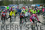 At the Start of the  Tour de Munster Cycle at Ballyseedy Garden Centre  on Saturday