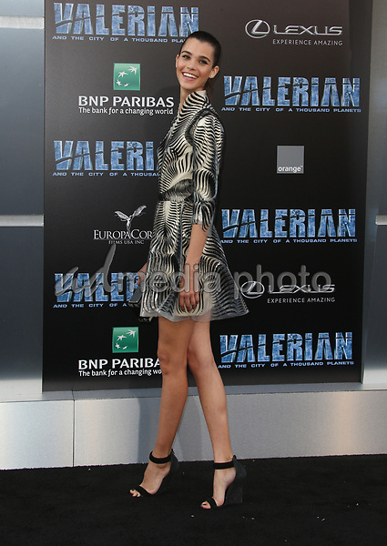"""17 July 2017 - Hollywood, California - Pauline Hoarau. """"Valerian and the City of a Thousand Planets"""" World Premiere held at TCL Chinese Theatre. Photo Credit: AdMedia. Photo Credit: F. SadouAdMedia"""