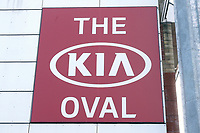 Kia Oval signage ahead of Surrey CCC vs Essex CCC, Specsavers County Championship Division 1 Cricket at the Kia Oval on 12th April 2019