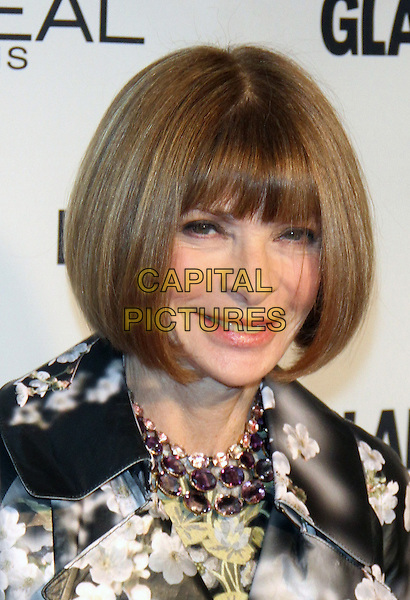 NEW YORK, NY - NOVEMBER 9: Anna Wintour at the 2015 Glamour Women Of The Year Awards at Carnegie Hall on November 9, 2015 in New York City. <br /> CAP/MPI/RW<br /> &copy;RW/MPI/Capital Pictures