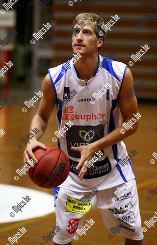 2009-09-08 / Basketbal / seizoen 2009-2010 / Kangoeroes-Boom / Olivier Foucart..Foto: Maarten Straetemans (SMB)