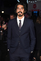 "Dev Patel<br /> at the London Film Festival 2016 premiere of ""Lion"" at the Odeon Leicester Square, London.<br /> <br /> <br /> ©Ash Knotek  D3176  12/10/2016"