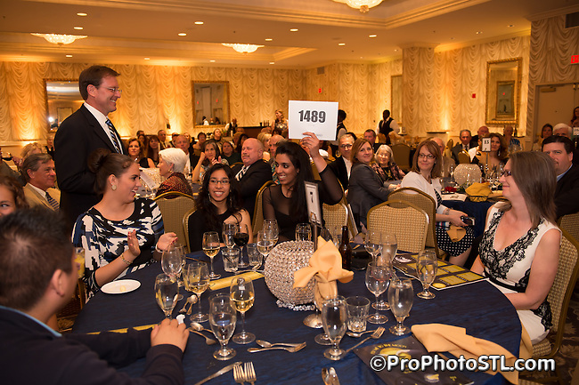 World Bird Sanctuary 2014 gala at Sheraton City Center in St. Louis, MO on Apr 26, 2014.