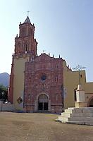 Mison de Landa de Metamoros in the Sierra Gorda, Queretaro state, Mexico. Mision de Landa is the last of five Franciscan missions established by Fray Junipero Serra between 1751 and 1768.