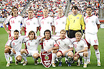 28 May 2006: Latvian starting eleven. The United States Men's National Team defeated Latvia 1-0 at Rentschler Field in East Hartfort, Connecticut in an international friendly soccer match.