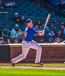 21 April 2013: New York Mets catcher John Buck in action against the Washington Nationals at Citi Field in Flushing, NY. The Mets shut out the visiting Nationals 2-0, taking the rubber match of their 3-game weekend series. Mandatory Credit: Ed Wolfstein Photo *** RAW (NEF) Image File Available ***