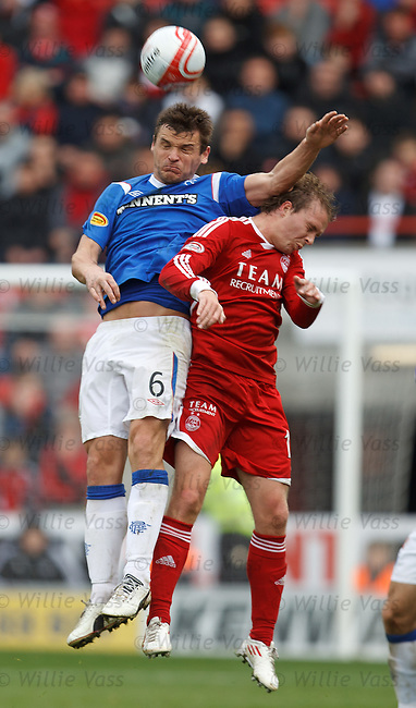 Lee McMcculloch and Darren Mackie