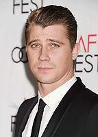 HOLLYWOOD, CA - NOVEMBER 09: Actor Garrett Hedlund attends the screening of Netflix's 'Mudbound' at the Opening Night Gala of AFI FEST 2017 presented by Audi at TCL Chinese Theatre on November 9, 2017 in Hollywood, California.<br /> CAP/ROT<br /> &copy;ROT/Capital Pictures