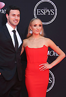 LOS ANGELES, CA - JULY 12: Matt Lombardi and Nastia Liukin at The 25th ESPYS at the Microsoft Theatre in Los Angeles, California on July 12, 2017. Credit: Faye Sadou/MediaPunch