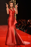 www.acepixs.com<br /> February 9, 2017  New York City<br /> <br /> Jeannie Mai walks the runway at the American Heart Association's Go Red For Women Red Dress Collection 2017 presented by Macy's at Fashion Week at Hammerstein Ballroom on February 9, 2017 in New York City.<br /> <br /> Credit: Kristin Callahan/ACE Pictures<br /> <br /> <br /> Tel: 646 769 0430<br /> Email: info@acepixs.com
