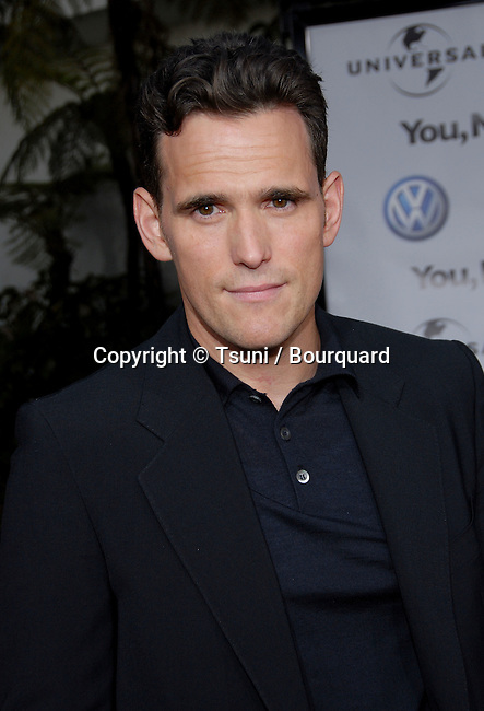 Matt Dillon arriving at the YOU, ME AND DUPREE Premiere at the Arclight Theatre  In Los Angeles. July 10,  2006.<br /> head shot