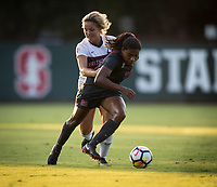 STANFORD, CA - August 10, 2018: Catarina Macario at Laird Q. Cagan Stadium. The Stanford Cardinal defeated the Fresno State Bulldogs 4-0.