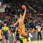 12.01.2020, ratiopharm arena, Neu-Ulm, GER, BBL-Pokal, ratiopharm ulm vs EWE Baskets Oldenburg, <br /> im Bild Dunking von Grant Jerrett (Ulm, #11)<br /> <br /> Foto © nordphoto / Hafner