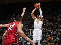 Berkeley, CA - December 28, 2015: CAL Men's Basketball's 86-60 victory against Davidson at Haas Pavilion.