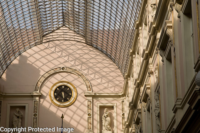 Galerie du Roi, King Shopping Gallery, Brussels, Belgium, Europe
