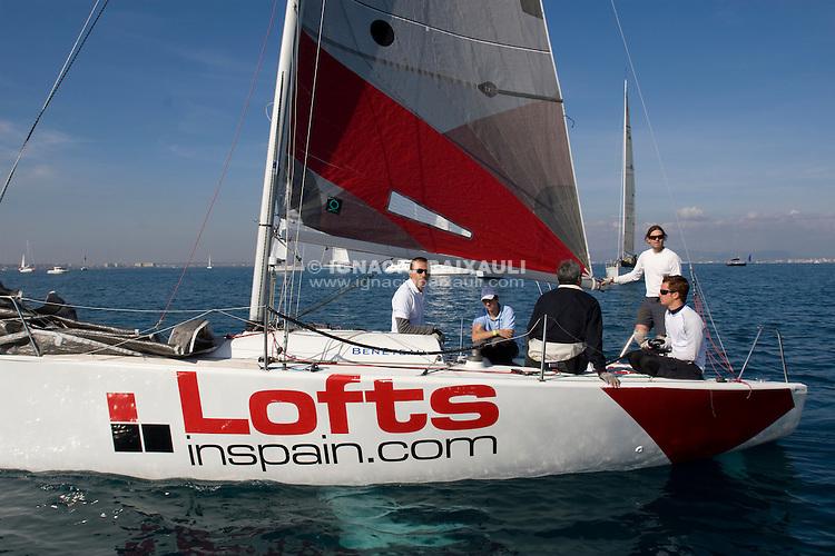 Lofts in Spain.com .II TROFEO DESAFÍO ESPAÑOL - Club Náutico Español de Vela, Port America's Cup, Valencia, España/Spain. 7th to the 9th of November 2008. RN crucero