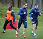 21.02.2019: Rangers training: Glenn Middleton