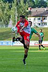 05.07.2017, Illerstadion, Kempten, GER, FSP, FC Augsburg vs FC Wacker Innsbruck, im Bild Marco Richter (Augsburg #23), Jeffrey Egbe (Innsbruck #42)<br /> <br /> Foto &copy; nordphoto / Hafner