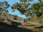 Hikers at Garin Regional Park
