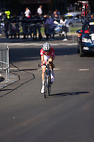 UCI World Championship 2013 men's cycling race passes through the city streets of Florence Tuscany