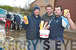 CARWASH: Members of the Young Agricultural Engineers Society from the ITT held their annual charity car wash on Thursday. From l-r were: Darren O'Shea (Chairperson), brian Duane (Secretary) and Paul Brennan.   Copyright Kerry's Eye 2008