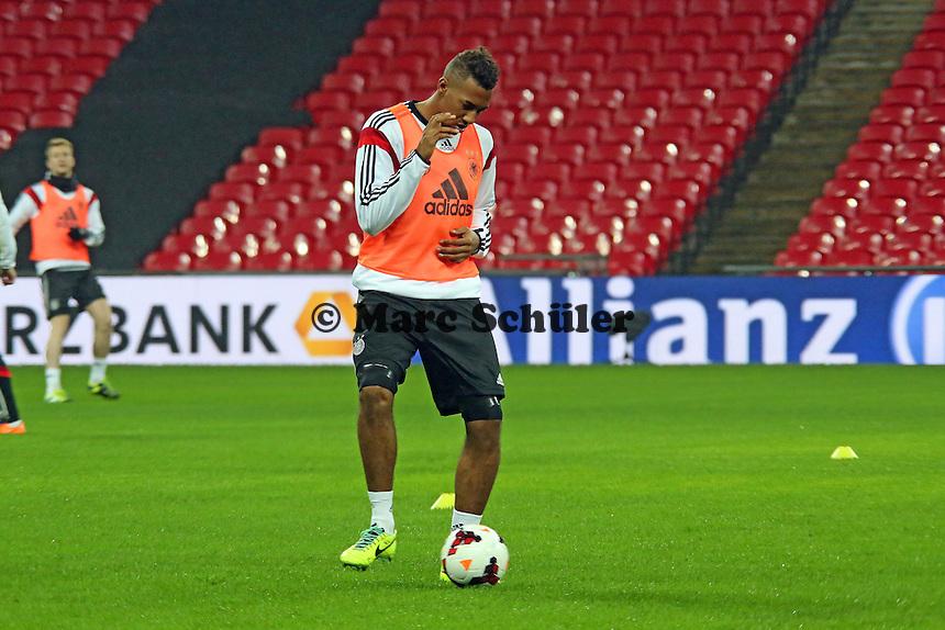 Jerome Boateng (D) - Abschlusstraining der Nationalmannschaft im Wembley Stadium