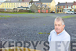 PARKING: Ballybunion councillor, Robert Beasley, who is calling on Kerry County Council to acquire the site of the Old Atlantic Hotel for car parking in the town.