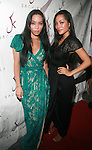To-Tam and To-Nya Attend SACHIKA TWINS Present REVE BOUTIQUE FASHION SHOW at The Skyroom, NY 8/2/11