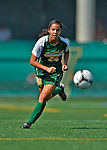 26 August 2012: University of Vermont Catamount forward Nicoleta Hardesty in action against the Fairfield University Stags at Virtue Field in Burlington, Vermont. The Stags defeated the Lady Cats 1-0. Mandatory Credit: Ed Wolfstein Photo