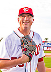 28 February 2016: Washington Nationals pitcher Sammy Solis poses for his Spring Training Photo-Day portrait at Space Coast Stadium in Viera, Florida. Mandatory Credit: Ed Wolfstein Photo *** RAW (NEF) Image File Available ***