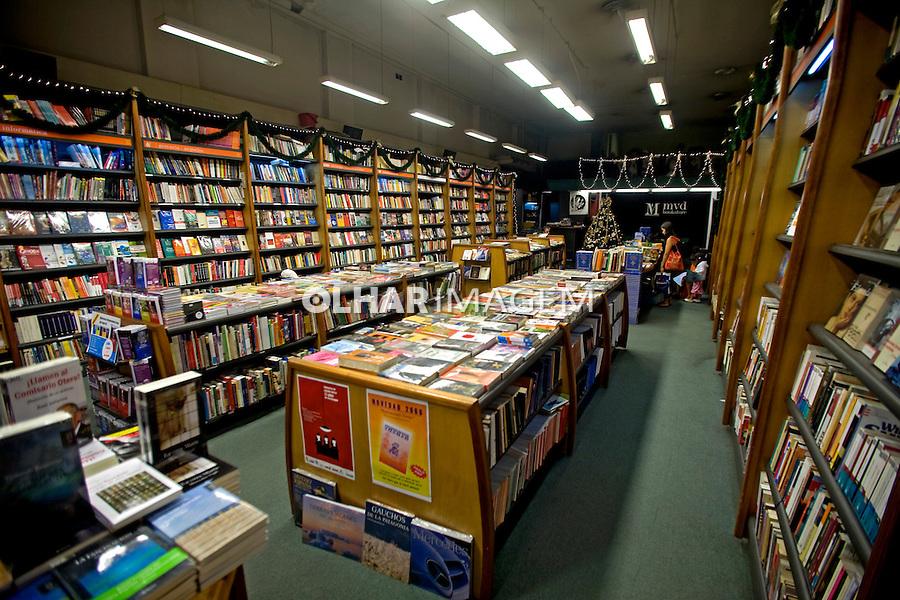 Livraria na cidade de Montevidéu. Uruguai. 2009. Foto de Caetano Barreira.