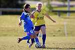BRISBANE, AUSTRALIA - JULY 13:  during the NPL Queensland Senior Womens Round 20 match between Gold Coast United and SWQ Thunder at Coplick Family Sports Park on July 13, 2019 in Brisbane, Australia. (Photo by Patrick Kearney)