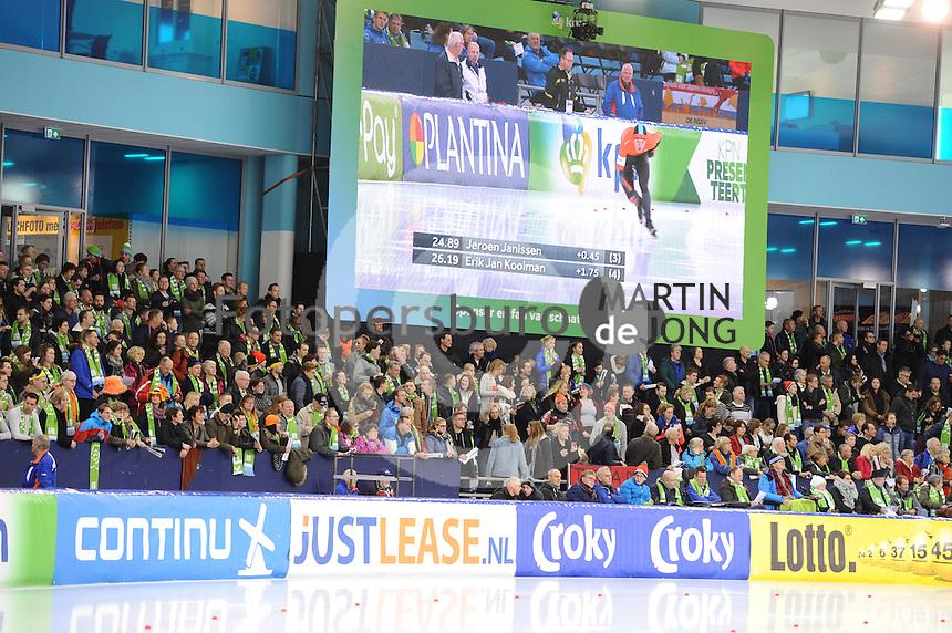 SCHAATSEN: HEERENVEEN: IJsstadion Thialf, 21-01-2017, KPN NK Sprint & Allround, ©foto Martin de Jong