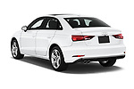 Car pictures of rear three quarter view of 2017 Audi A3  Premium  4 Door Sedan angular rear