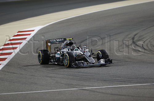 03.04.2016. Sakhir, Bahrain. F1  Grand Prix of Bahrain, 6 Nico Rosberg (GER, Mercedes AMG Petronas Formula One Team) on his way to winning the race