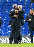 Chelsea's Didier Drogba greets Bruce Buck<br /> <br /> Barclays Premier League- Chelsea vs Sunderland - Stamford Bridge - England - 19th December 2015 - Picture David Klein/Sportimage