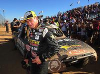 Apr 16, 2011; Surprise, AZ USA; LOORRS driver Brian Deegan (38) during round 3 at Speedworld Off Road Park. Mandatory Credit: Mark J. Rebilas-.