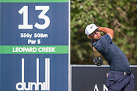 Erik Van Rooyen (RSA) during the 1st round of the Alfred Dunhill Championship, Leopard Creek Golf Club, Malelane, South Africa. 13/12/2018<br /> Picture: Golffile | Tyrone Winfield<br /> <br /> <br /> All photo usage must carry mandatory copyright credit (© Golffile | Tyrone Winfield)