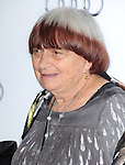 Hollywood, CA - NOVEMBER 07: Agnes Varda arrives at     The 2013 AFI Opening Night Gala - Disney's Saving Mr. Banks Screening held at TCL Chinese Theatre in Hollywood, California on November 07,2012                                                                               © 2013 Hollywood Press Agency