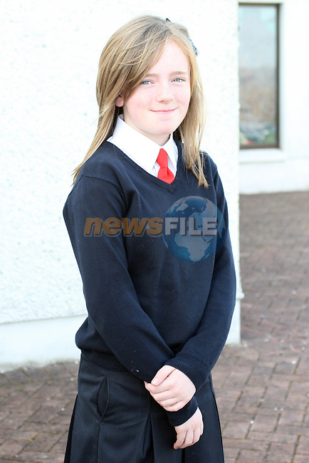 Shauna Kelly at Donacarney NS Confirmation in The Star of the Sea Church...Photo NEWSFILE/Jenny Matthews.(Photo credit should read Jenny Matthews/NEWSFILE)....This Picture has been sent you under the condtions enclosed by:.Newsfile Ltd..The Studio,.Millmount Abbey,.Drogheda,.Co Meath..Ireland..Tel: +353(0)41-9871240.Fax: +353(0)41-9871260.GSM: +353(0)86-2500958.email: pictures@newsfile.ie.www.newsfile.ie.FTP: 193.120.102.198.