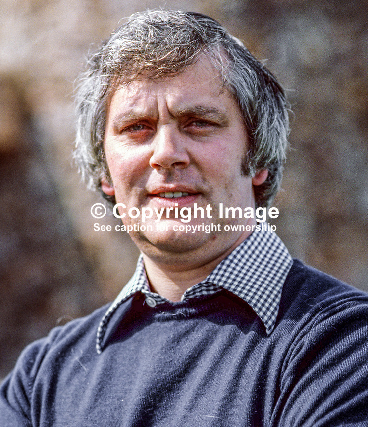 Glenn Barr, community worker, political activist, Londonderry, N Ireland, UK, 19790084e<br />